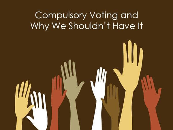 essay against compulsory voting