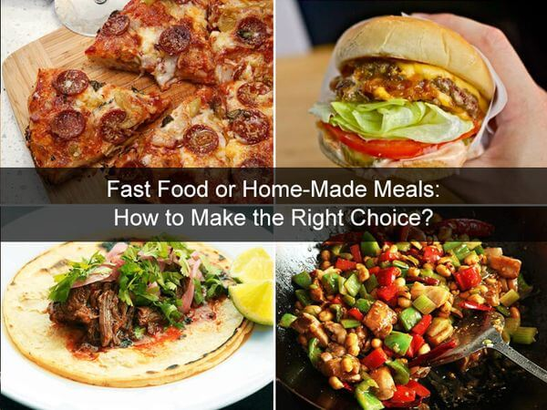 Fast Food or Home-Made Meals