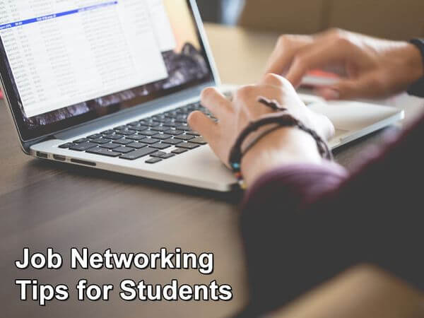 Job Networking Tips for Students