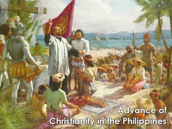 Advance of Christianity in the Philippines