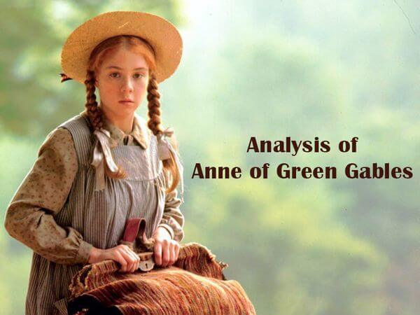 Analysis of Anne of Green Gables